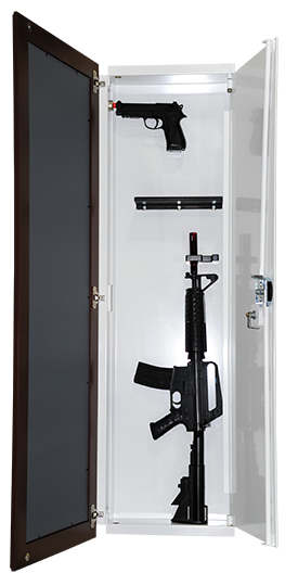 Hidden GunWall Safes Made In USA By HubZone Mfg